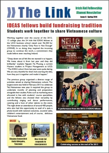 The Link: Irish Aid Fellowship Alumni Newsletter - Issue 6 cover