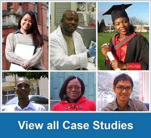 View all case studies - montage of profiles